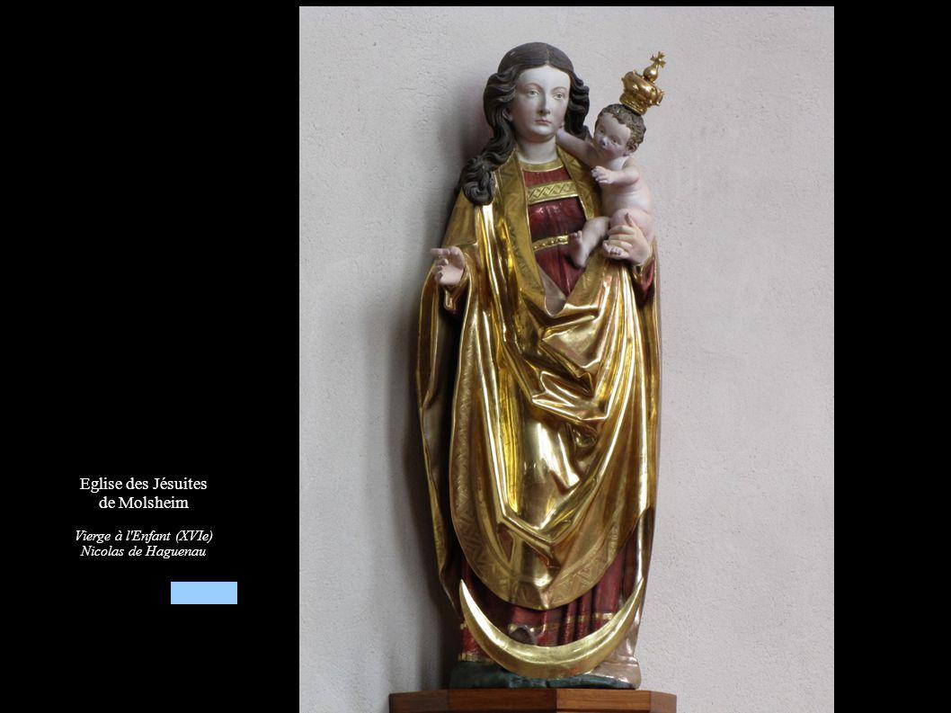 Eglise des Jésuites de Molsheim Vierge à l'Enfant (XVIe) Nicolas de Haguenau