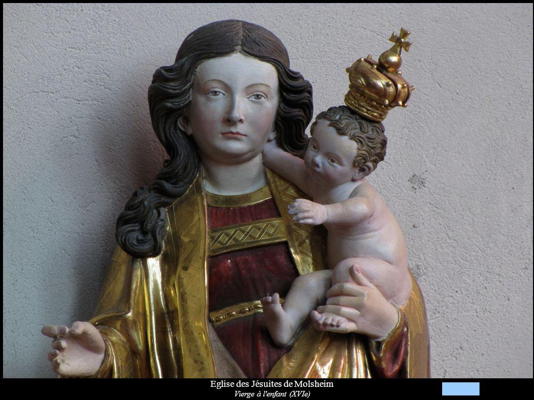 Eglise des Jésuites de Molsheim Vierge à l'enfant (XVIe)