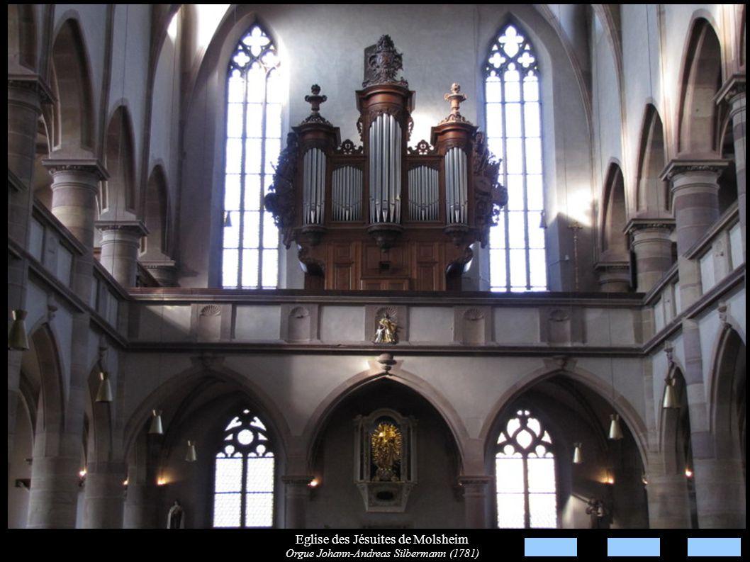 Eglise des Jésuites de Molsheim Orgue Johann-Andreas Silbermann (1781)