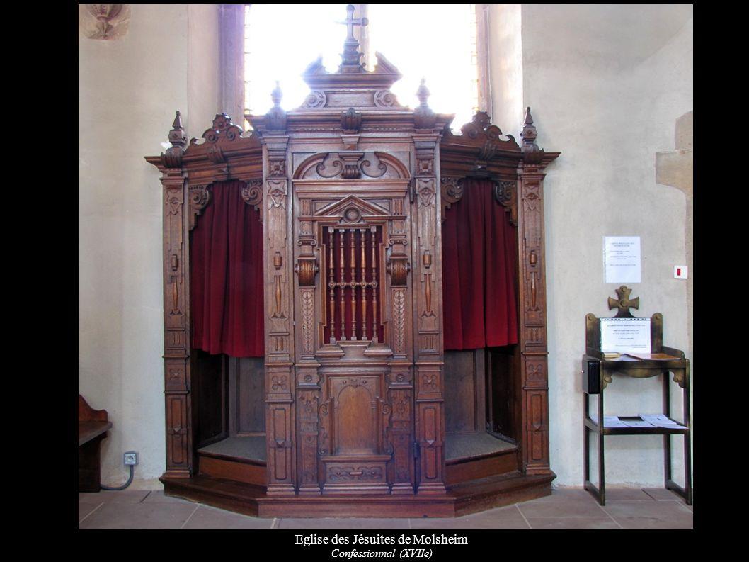 Eglise des Jésuites de Molsheim Confessionnal (XVIIe)