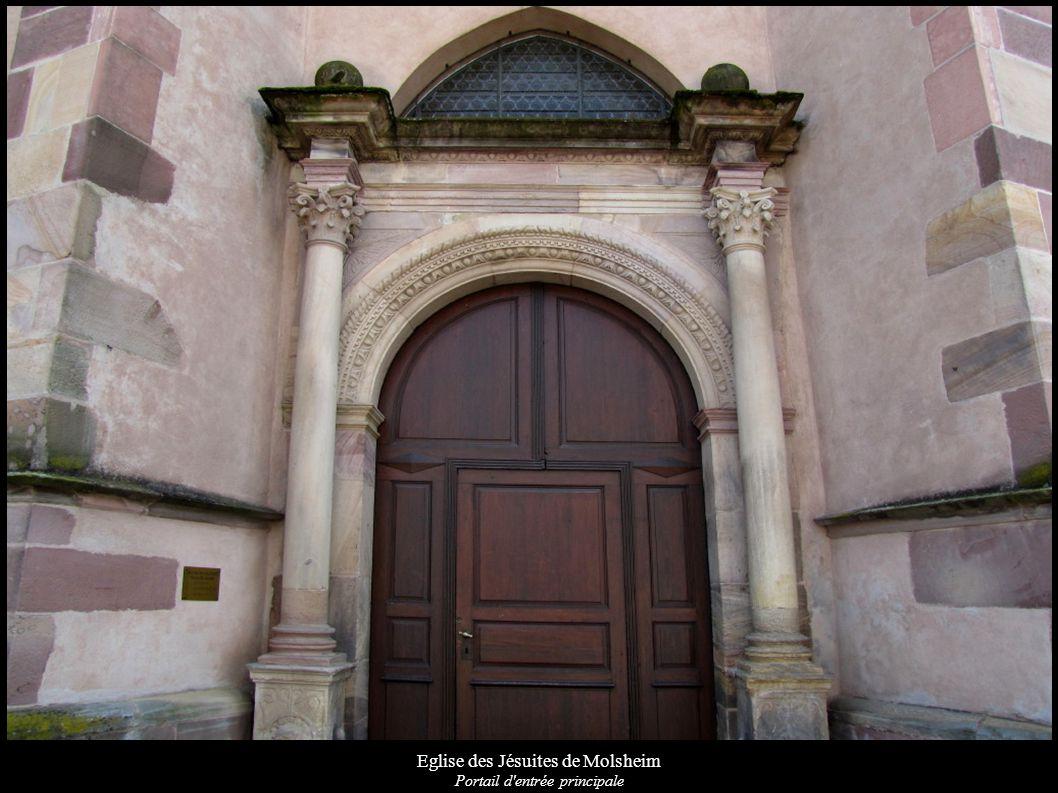 Eglise des Jésuites de Molsheim Portail d'entrée principale