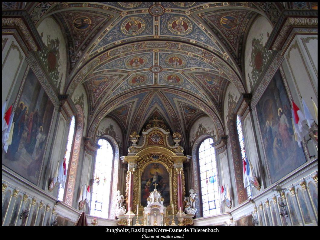 Jungholtz, Basilique Notre-Dame de Thierenbach Chœur et maître-autel