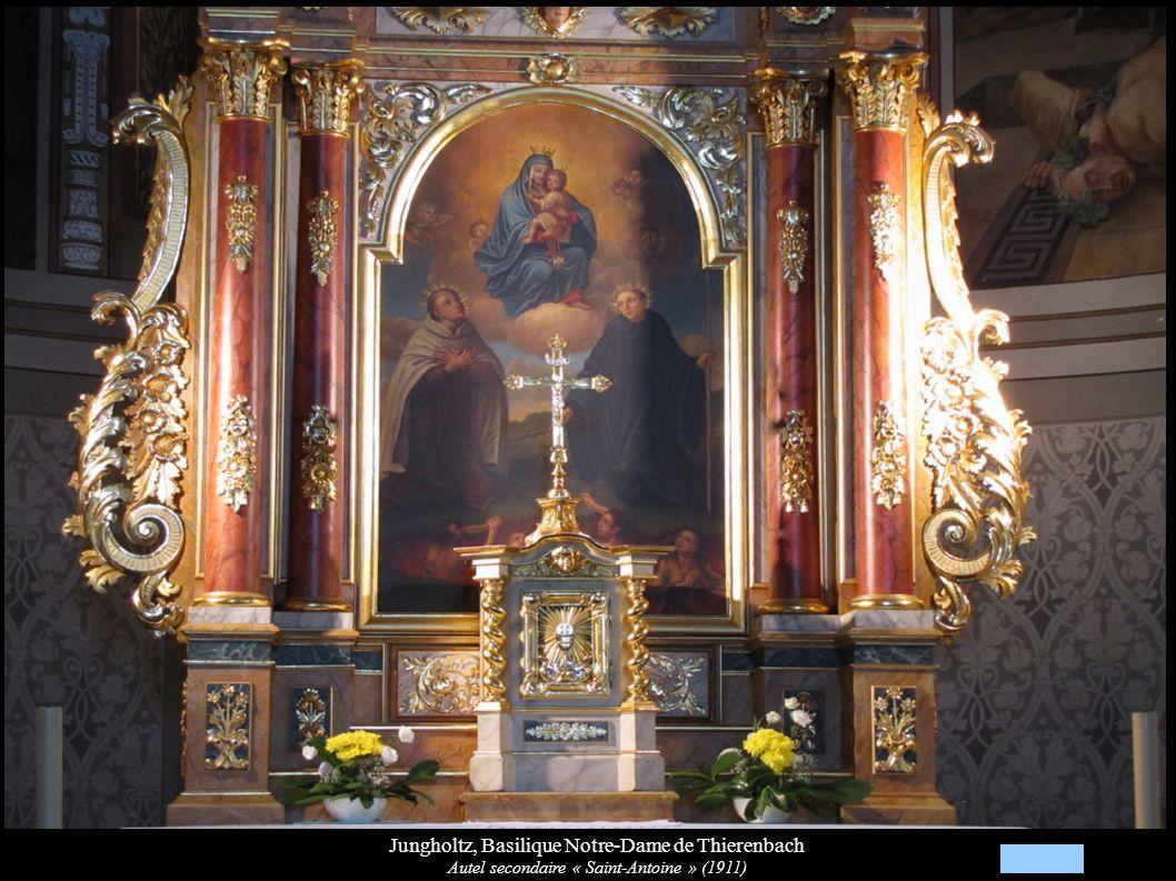 Jungholtz, Basilique Notre-Dame de Thierenbach Autel secondaire « Saint-Antoine » (1911)