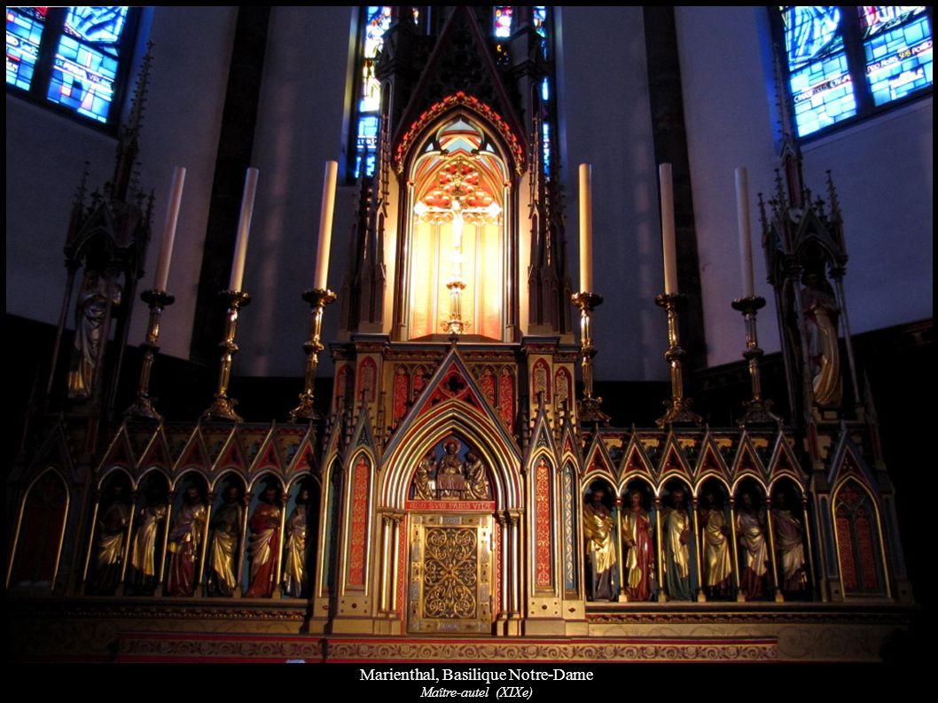 Marienthal, Basilique Notre-Dame Maître-autel (XIXe)