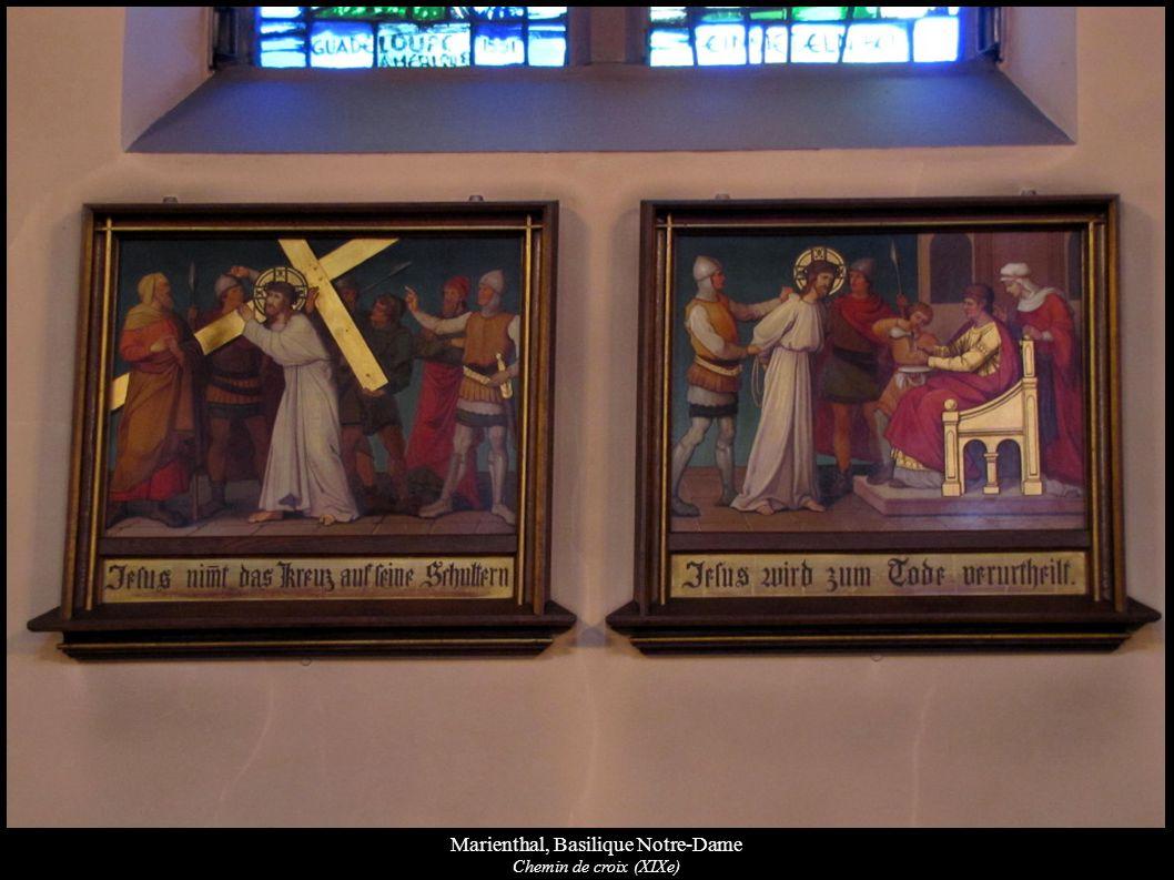 Marienthal, Basilique Notre-Dame Chemin de croix (XIXe)