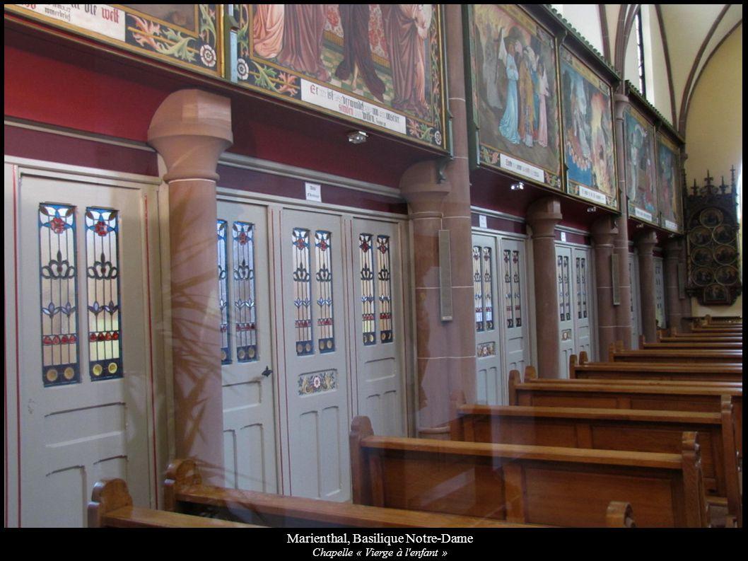 Marienthal, Basilique Notre-Dame Chapelle « Vierge à l'enfant »