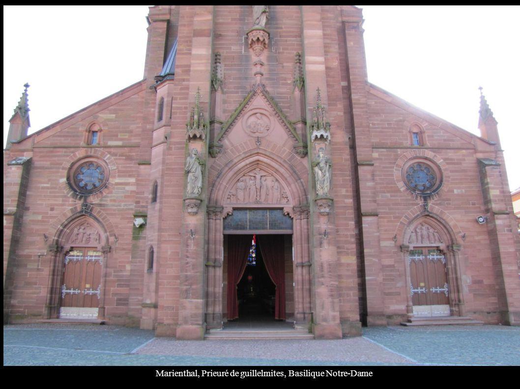 Marienthal, Prieuré de guillelmites, Basilique Notre-Dame