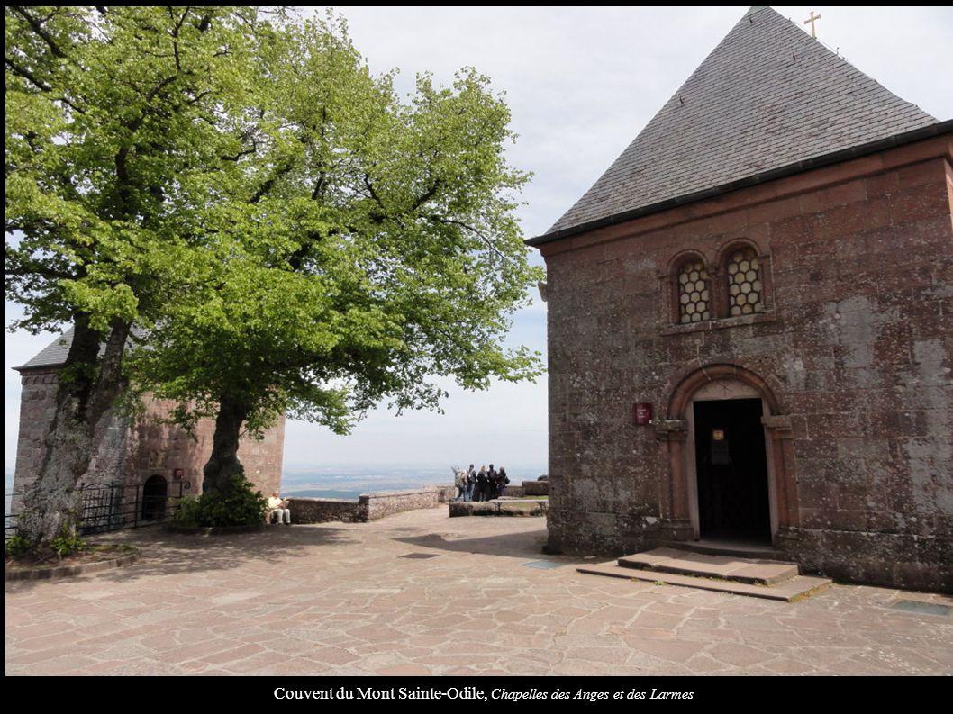 Couvent du Mont Sainte-Odile, Chapelles des Anges et des Larmes