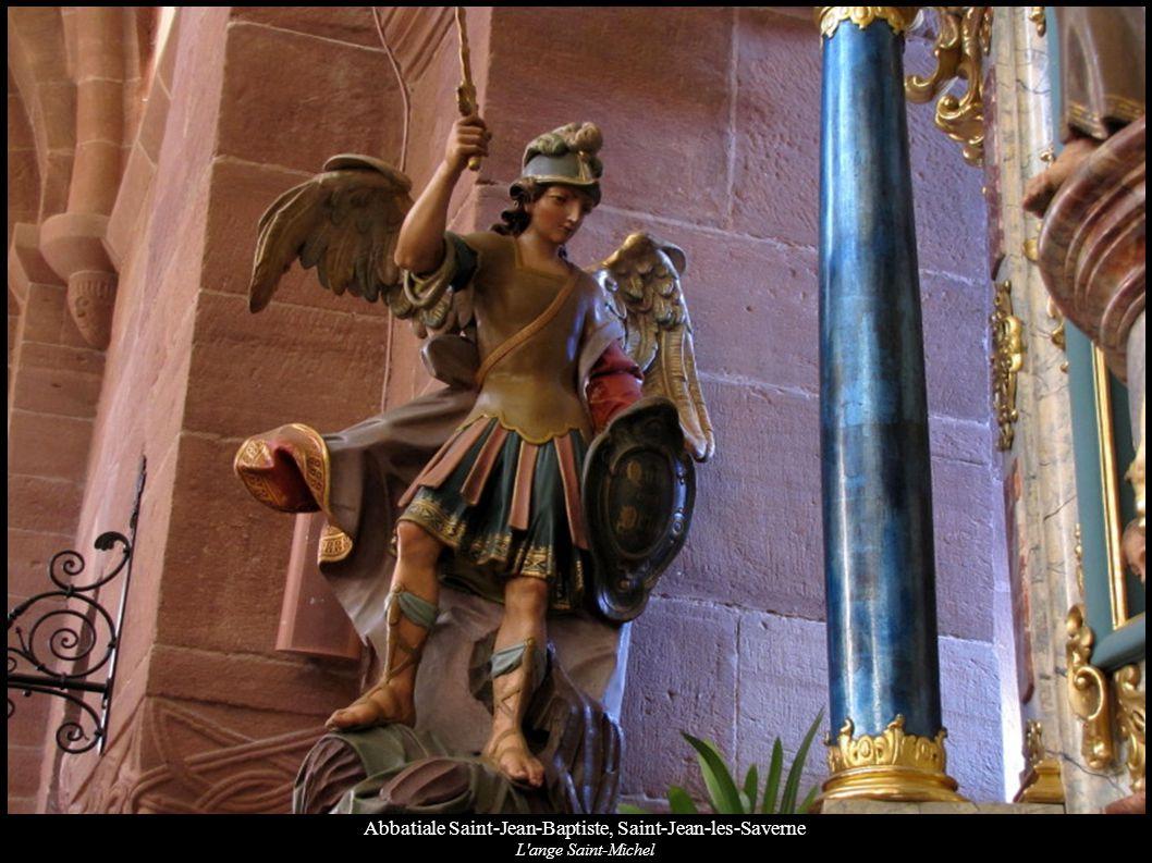 Abbatiale Saint-Jean-Baptiste, Saint-Jean-les-Saverne L'ange Saint-Michel