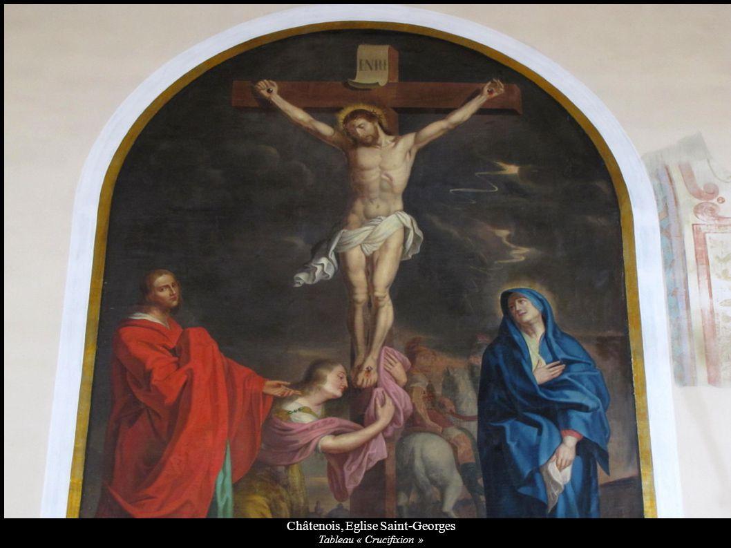 Châtenois, Eglise Saint-Georges Tableau « Crucifixion »