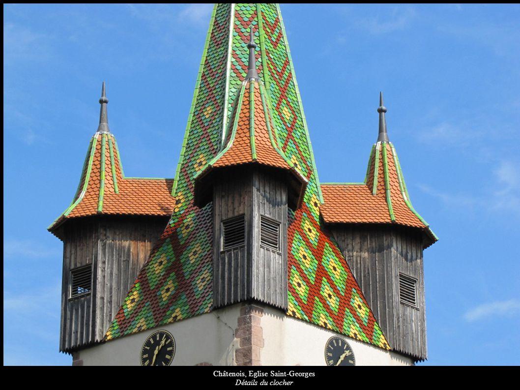 Châtenois, Eglise Saint-Georges Saint-Georges terrassant le dragon (XVIIe)