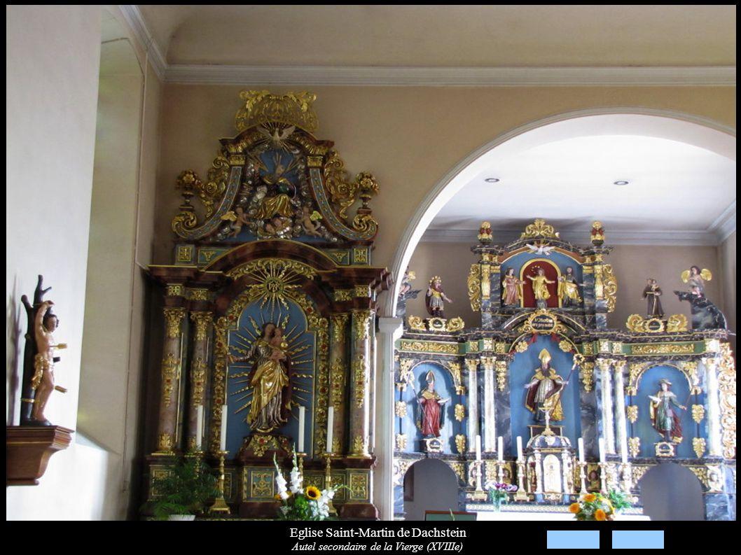 Eglise Saint-Martin de Dachstein Autel secondaire de la Vierge (XVIIIe)