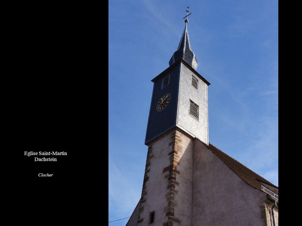 Eglise Saint-Martin de Dachstein Orgue Xavier Mockers (1829)