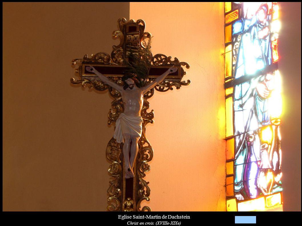 Eglise Saint-Martin de Dachstein Christ en croix (XVIIIe-XIXe)