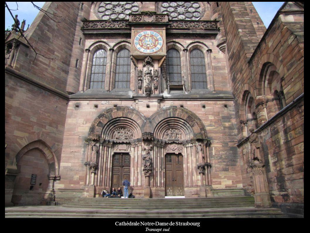Cathédrale Notre-Dame de Strasbourg Transept sud