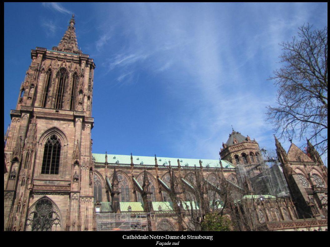 Cathédrale Notre-Dame de Strasbourg Façade sud