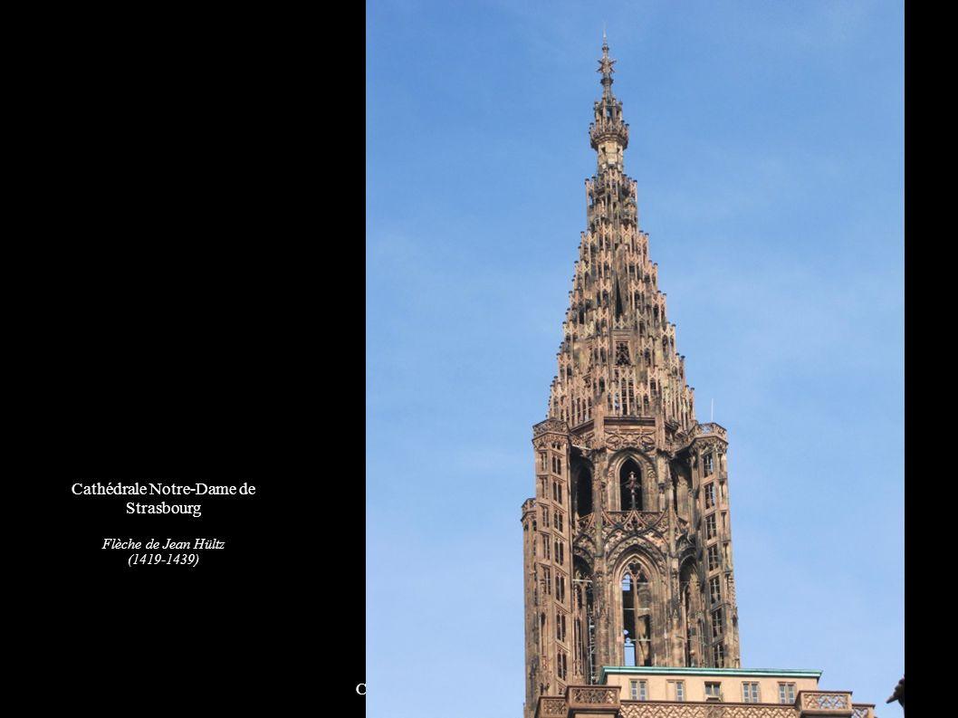 Cathédrale Notre-Dame de Strasbourg Façade sud et ouest Cathédrale Notre-Dame de Strasbourg Flèche de Jean Hültz (1419-1439)