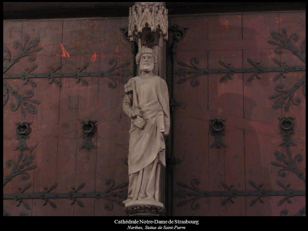 Cathédrale Notre-Dame de Strasbourg Mont des Oliviers (1498): Judas