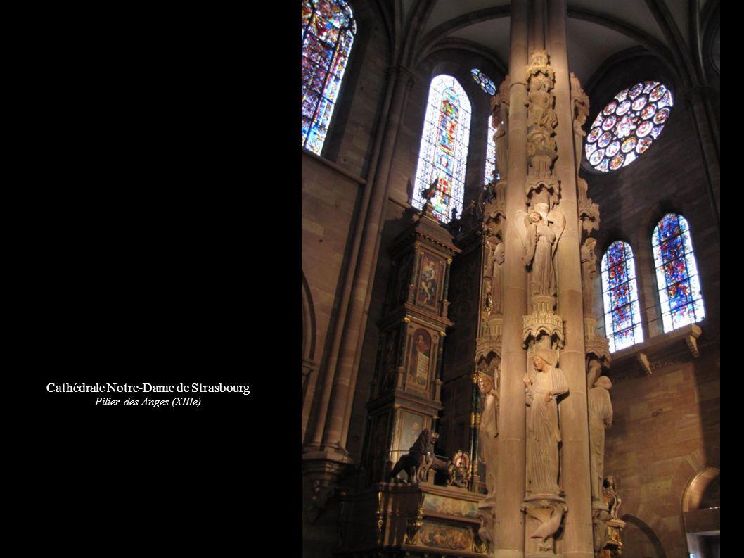 Cathédrale Notre-Dame de Strasbourg Pilier des Anges (XIIIe)