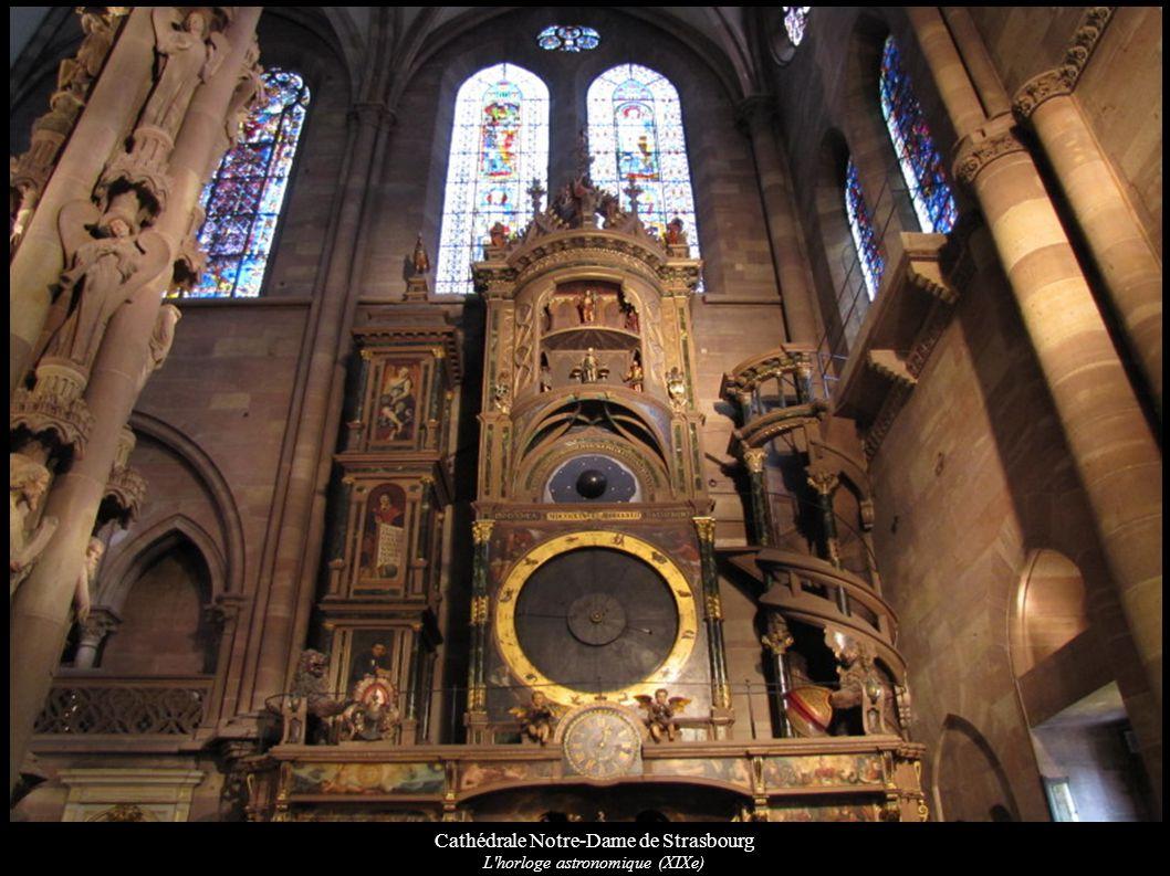 Cathédrale Notre-Dame de Strasbourg L'horloge astronomique (XIXe)