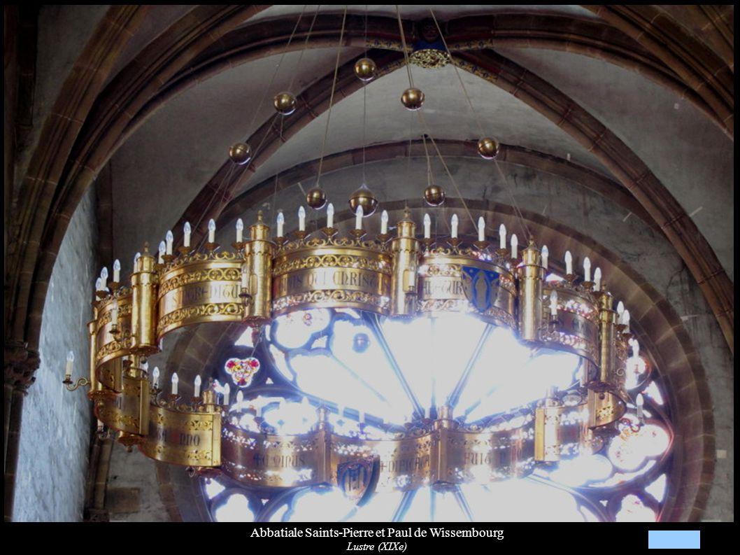 Abbatiale Saints-Pierre et Paul de Wissembourg Lustre (XIXe)