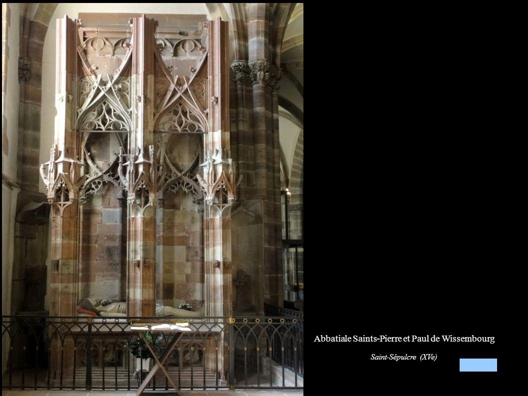 Abbatiale Saints-Pierre et Paul de Wissembourg Saint-Sépulcre (XVe)