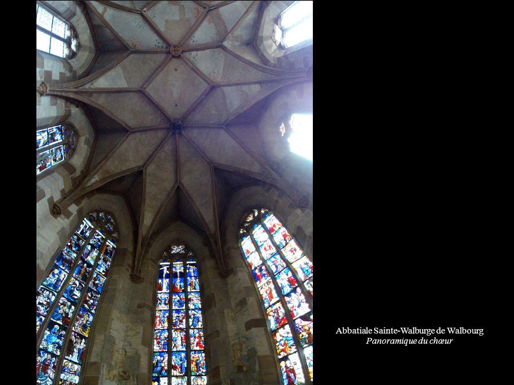 Abbatiale Sainte-Walburge de Walbourg Panoramique du chœur