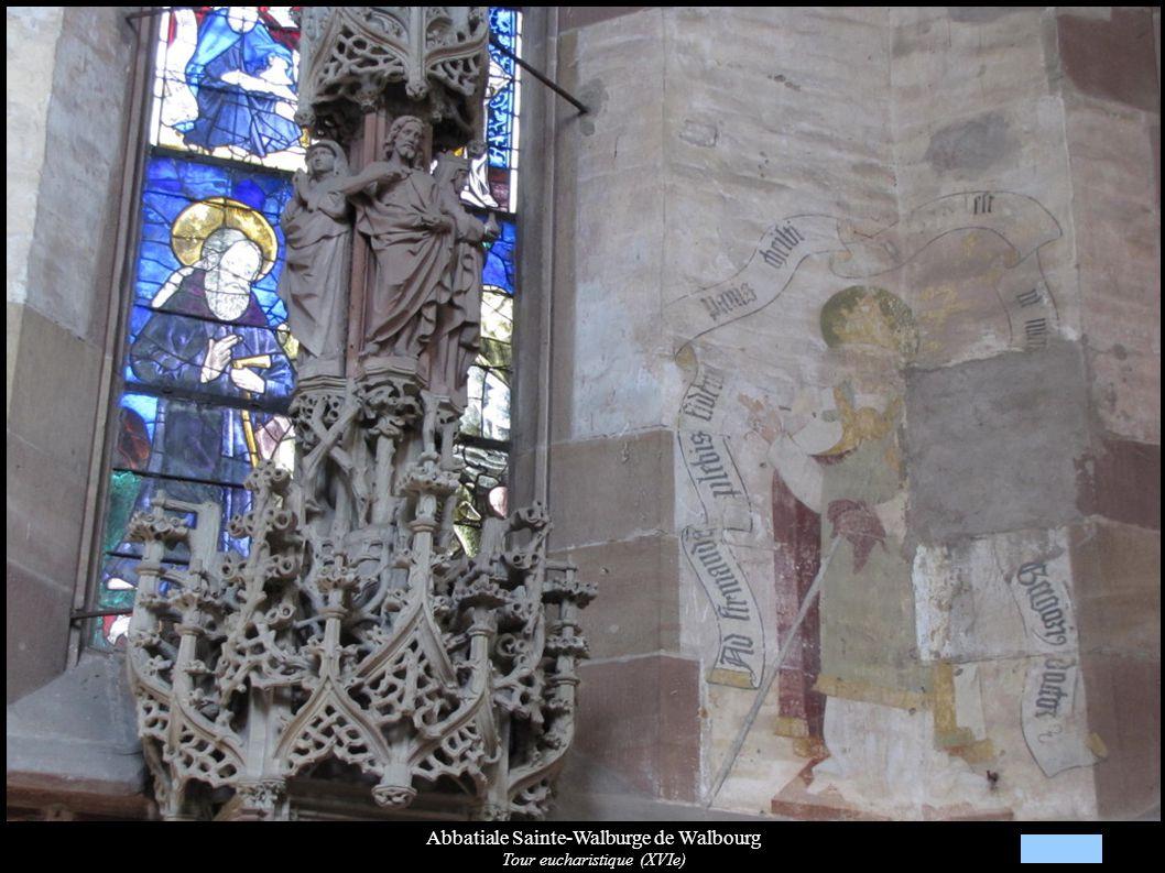 Abbatiale Sainte-Walburge de Walbourg Tour eucharistique (XVIe)