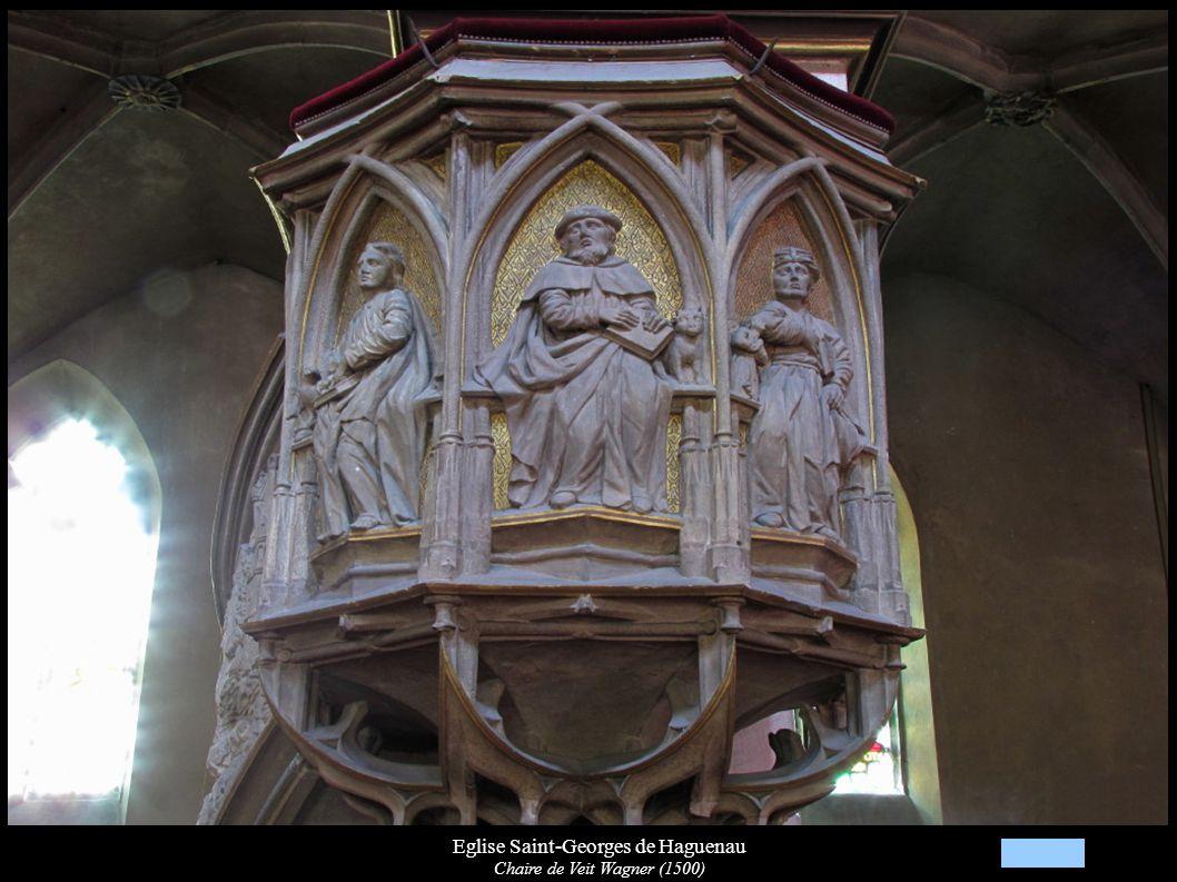 Eglise Saint-Georges de Haguenau Chaire de Veit Wagner (1500)