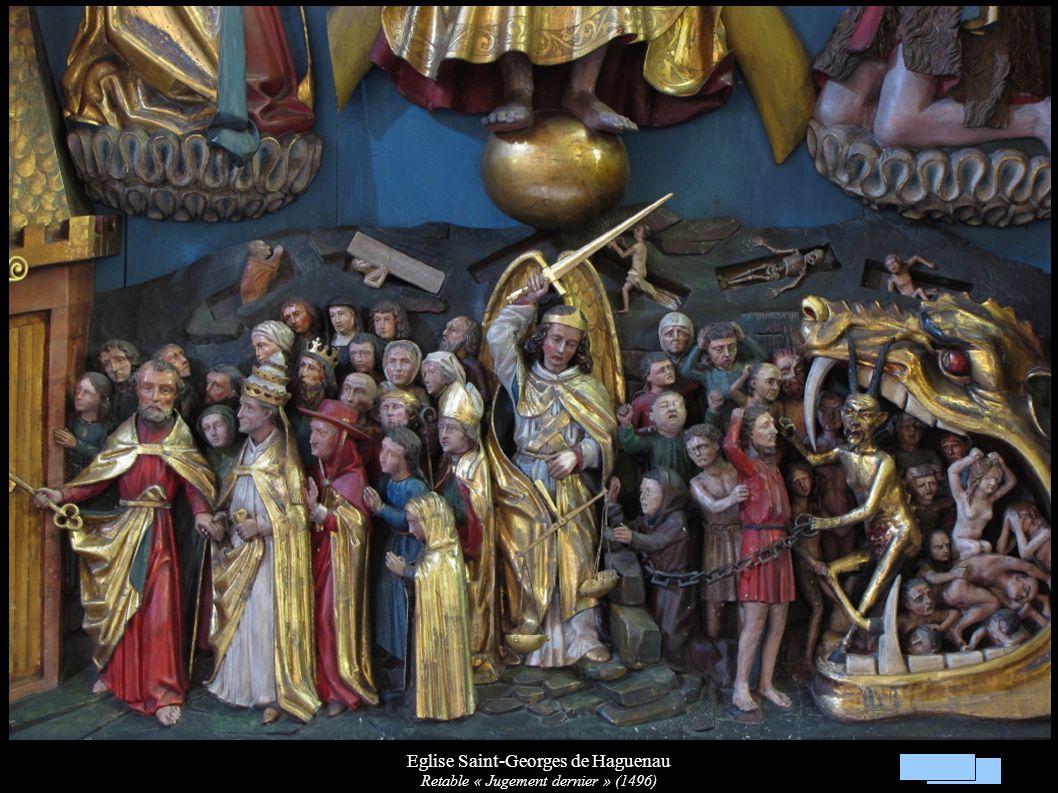Eglise Saint-Georges de Haguenau Retable « Jugement dernier » (1496)