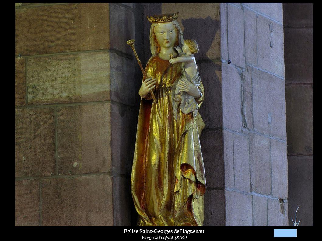 Eglise Saint-Georges de Haguenau Vierge à l'enfant (XIVe)