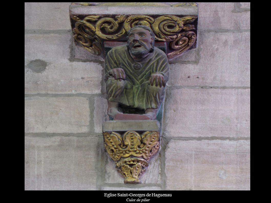 Eglise Saint-Georges de Haguenau Culot de pilier