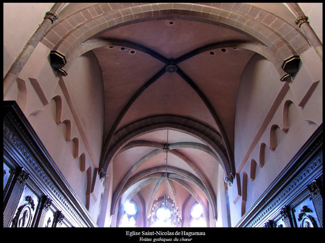 Eglise Saint-Nicolas de Haguenau Voûtes gothiques du chœur