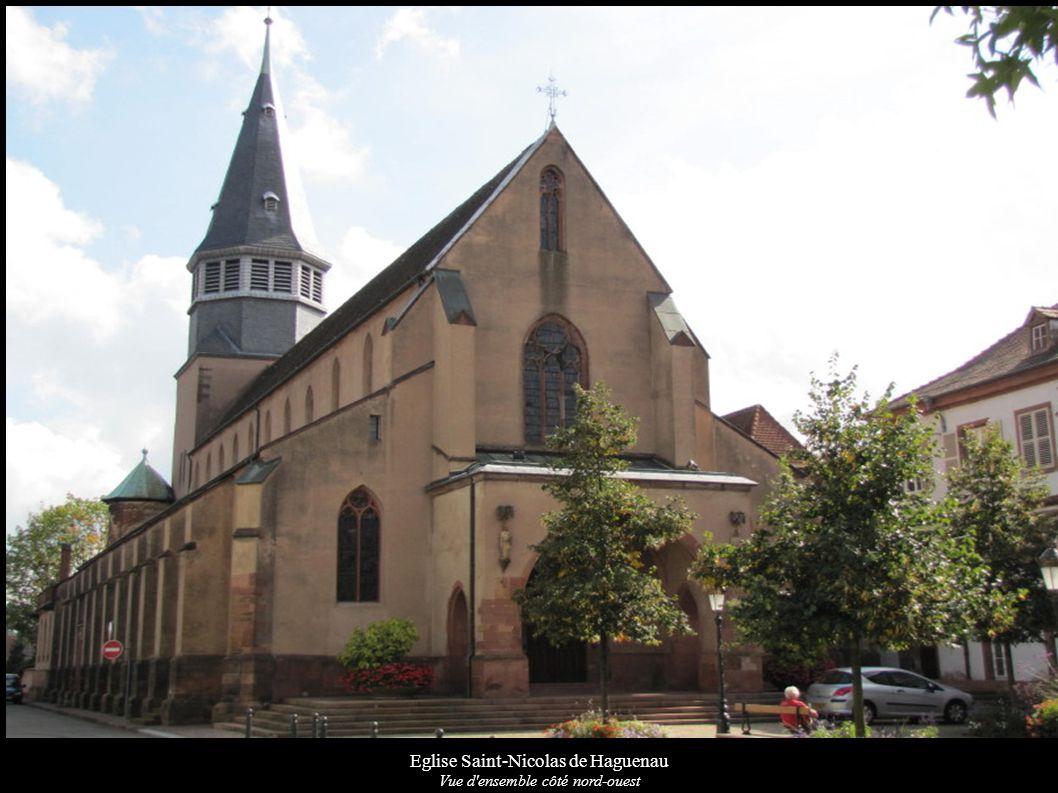 Eglise Saint-Nicolas de Haguenau Vue d ensemble côté nord-ouest