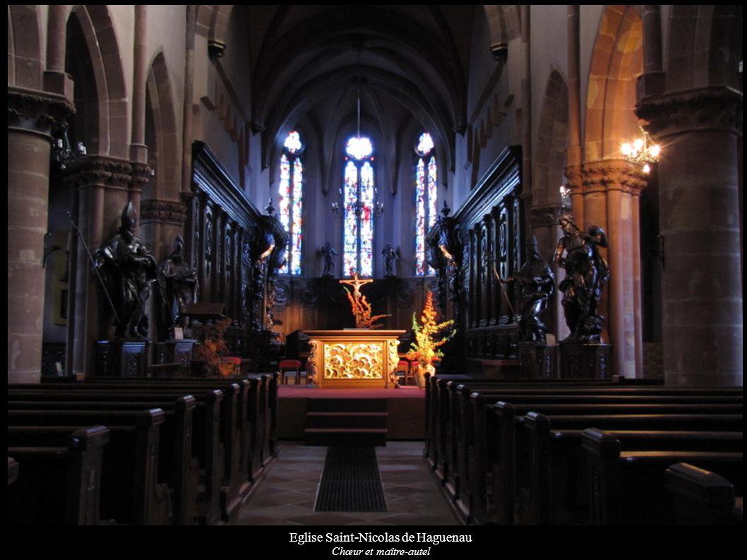 Eglise Saint-Nicolas de Haguenau Chœur et maître-autel