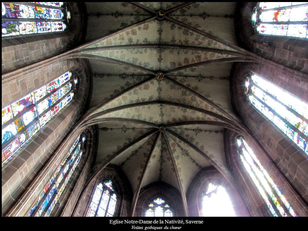Eglise Notre-Dame de la Nativité, Saverne Voûtes gothiques du chœur