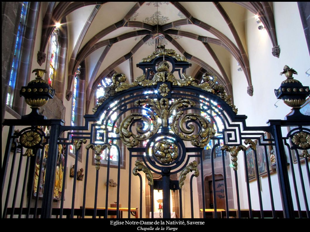 Eglise Notre-Dame de la Nativité, Saverne Chapelle de la Vierge