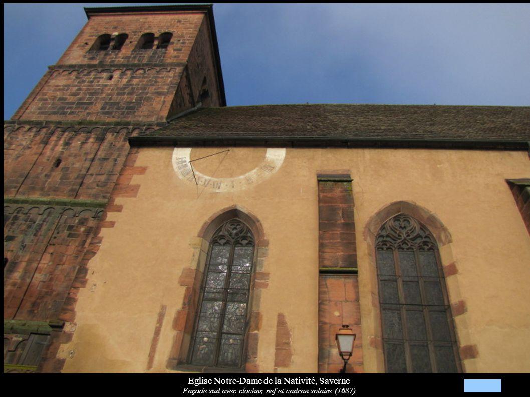 Eglise Notre-Dame de la Nativité Saverne Verrière XXe « Henri II » Blasons de deux évêques: Charles de Lorraine, Léopold d Autriche