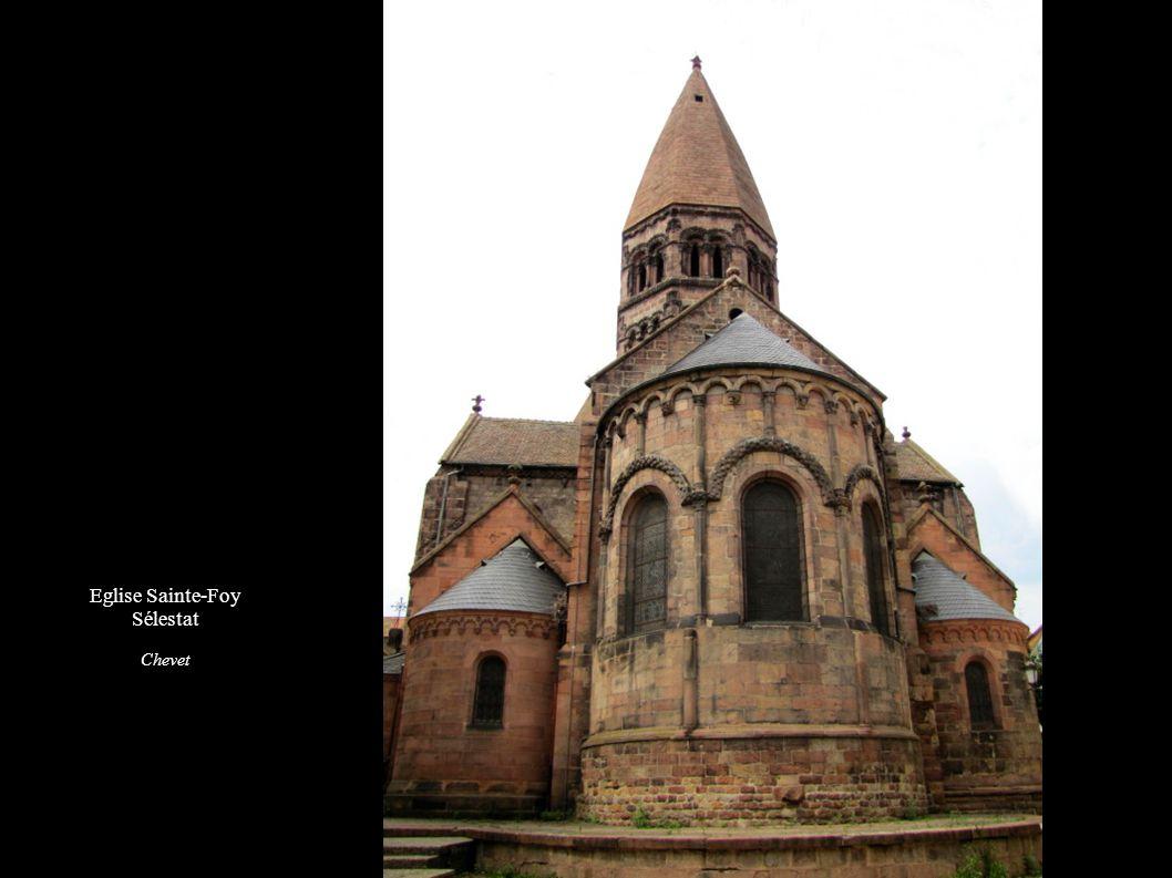 Eglise Sainte-Foy Sélestat Chevet