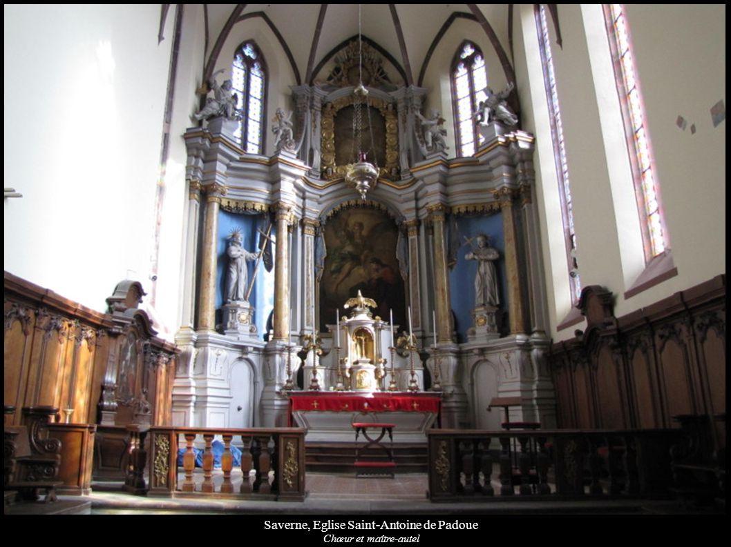 Saverne, Eglise Saint-Antoine de Padoue Chœur et maître-autel