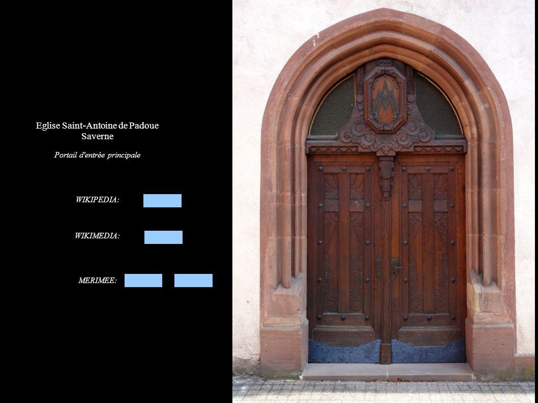 Saverne, Eglise Saint-Antoine de Padoue Dossier de la chaire à prêcher « Bon berger » (XIXe)