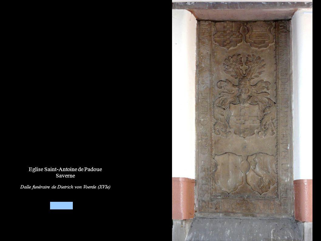 Saverne, Eglise Saint-Antoine de Padoue Autel secondaire « Vierge à l enfant » (XIXe), Statues de St-Nicolas et St-Antoine