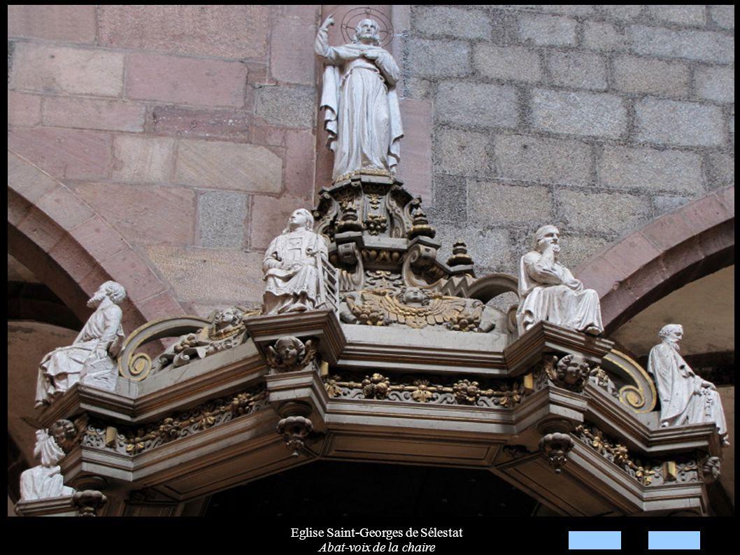 Eglise Saint-Georges de Sélestat Abat-voix de la chaire