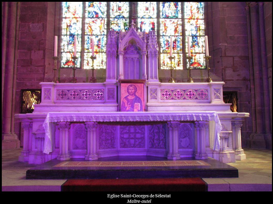 Eglise Saint-Georges de Sélestat Maître-autel