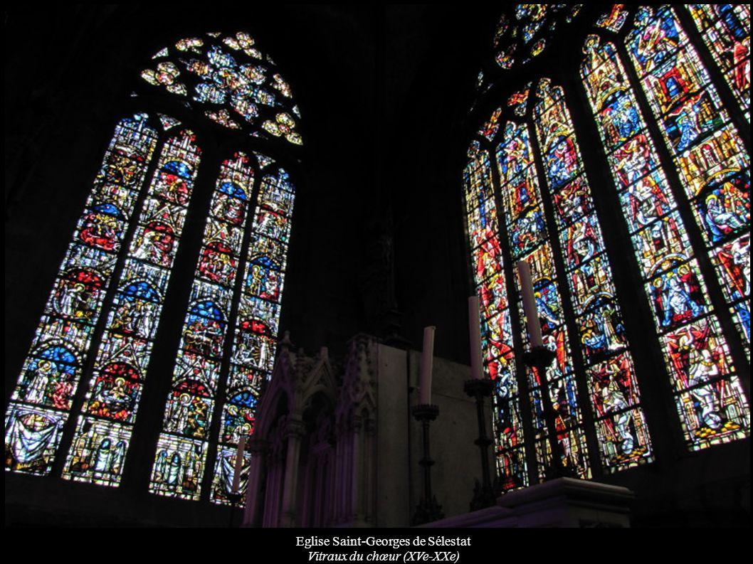 Eglise Saint-Georges de Sélestat Vitraux du chœur (XVe-XXe)