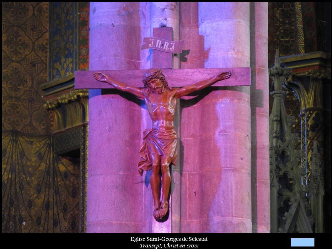 Eglise Saint-Georges de Sélestat Transept, Christ en croix