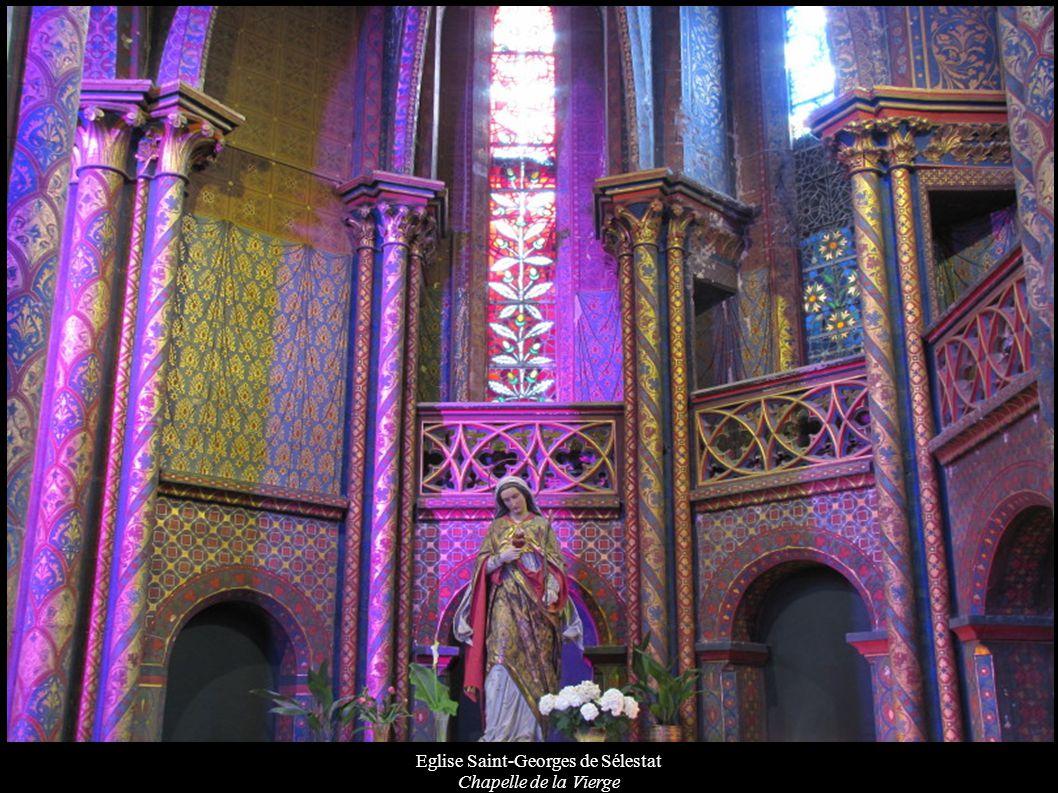 Eglise Saint-Georges de Sélestat Chapelle de la Vierge