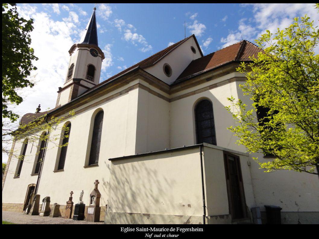Eglise Saint-Maurice de Fegersheim Nef sud et chœur