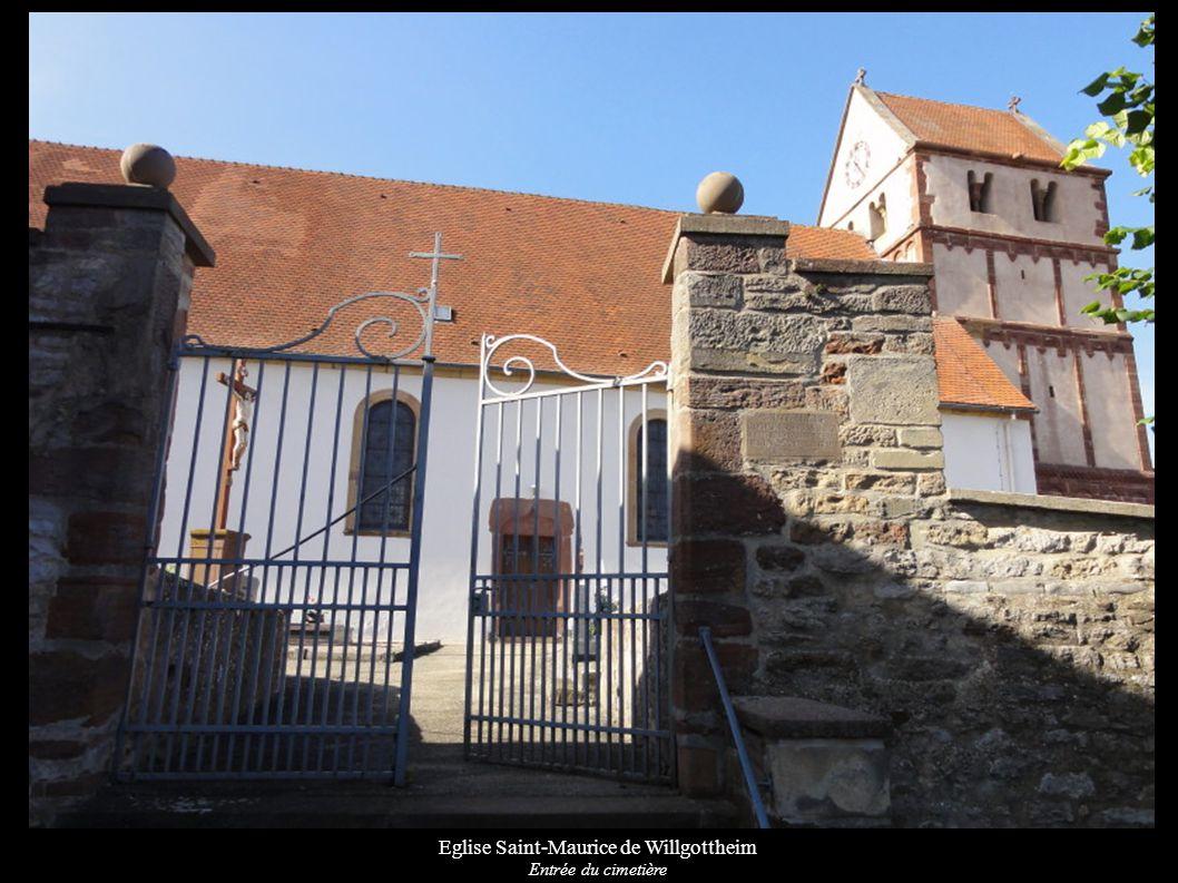 Eglise Saint-Maurice de Willgottheim Autel secondaire « 14 intercesseurs » (XVIIIe)