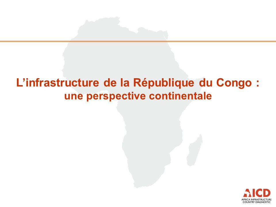 L'infrastructure de la République du Congo : une perspective continentale